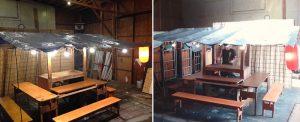 博多中洲仮設屋台
